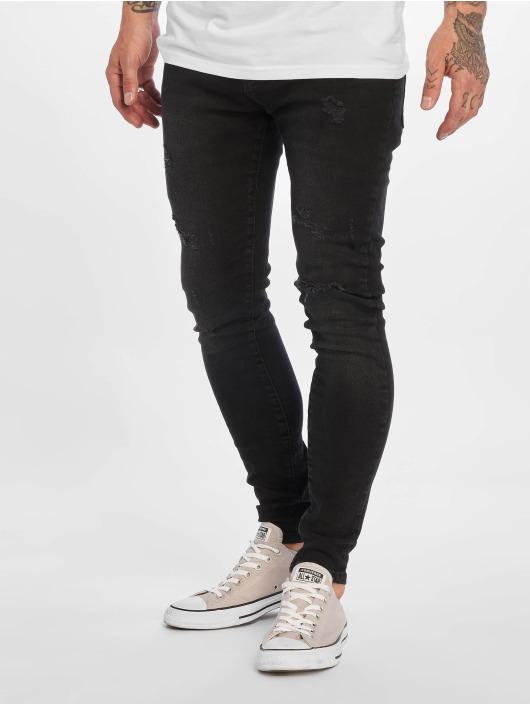 DEF Slim Fit Jeans Dean grau