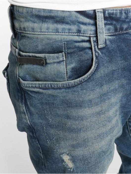 DEF Slim Fit Jeans Burt modrá
