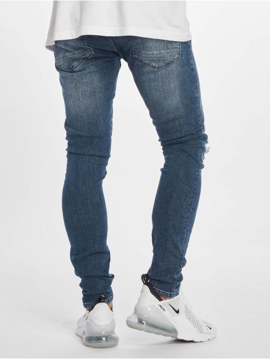 DEF Slim Fit Jeans Ramon modrá