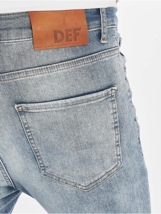 DEF Slim Fit Jeans Hugo modrá