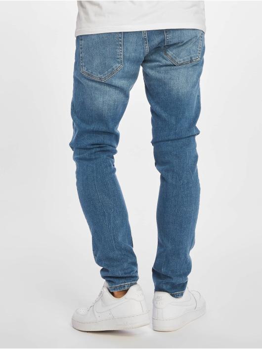 DEF Slim Fit Jeans José modrá