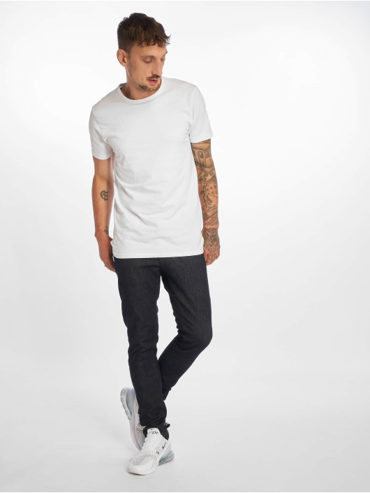 DEF Slim Fit Jeans Wright modrá