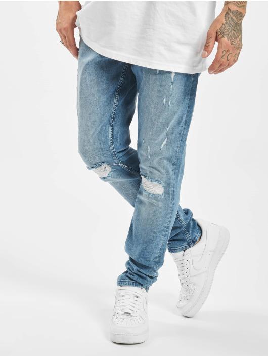 DEF Slim Fit Jeans Wes modrá