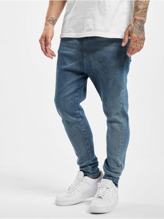 DEF Slim Fit Jeans Mack modrá