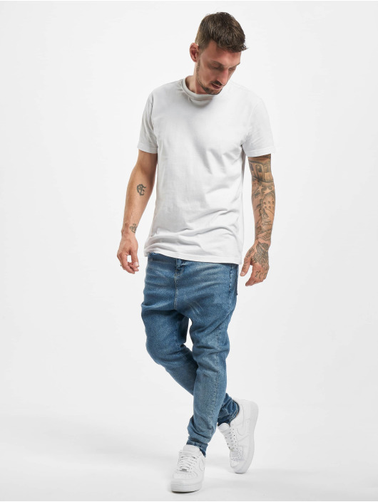 DEF Slim Fit Jeans Mack modrá