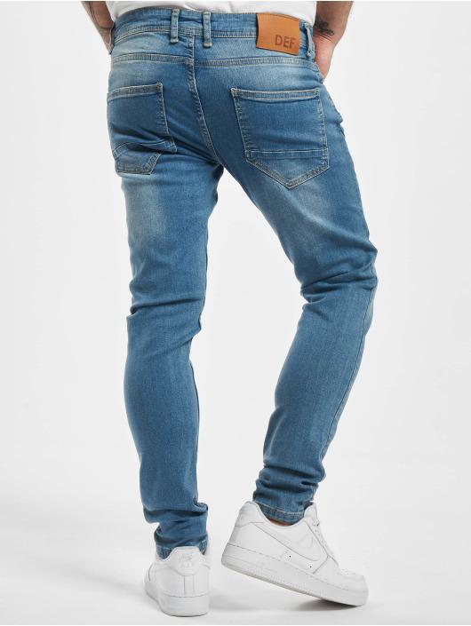 DEF Slim Fit Jeans Rislev modrá