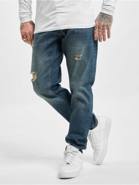 DEF Slim Fit Jeans Time modrá