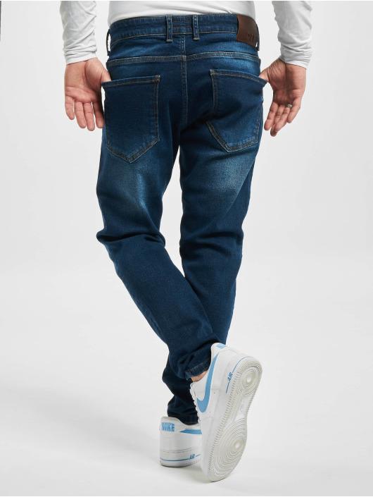 DEF Slim Fit Jeans Refik modrá