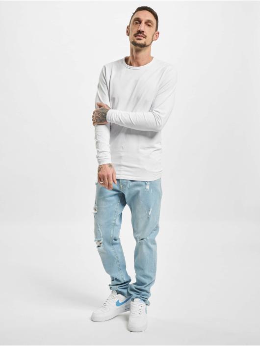 DEF Slim Fit Jeans Ako modrá