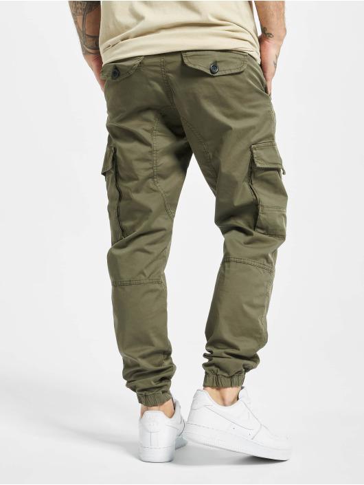 DEF Slim Fit Jeans Pete olivový