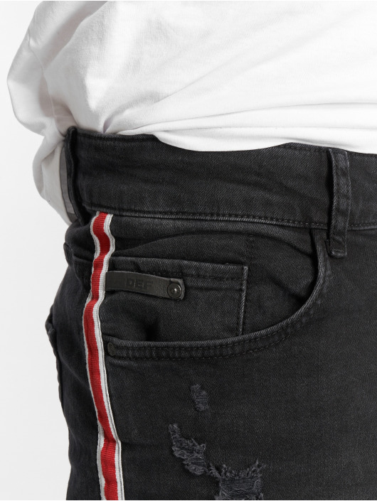 DEF Slim Fit Jeans Burt schwarz