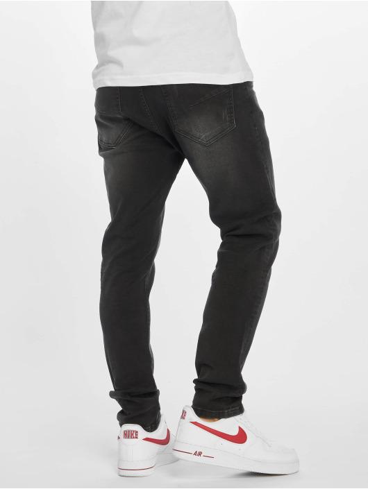 DEF Slim Fit Jeans Raven schwarz