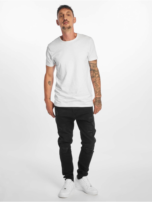 DEF Slim Fit Jeans Burundi schwarz