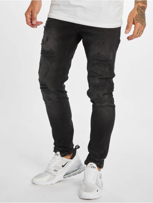 DEF Slim Fit Jeans Danny svart