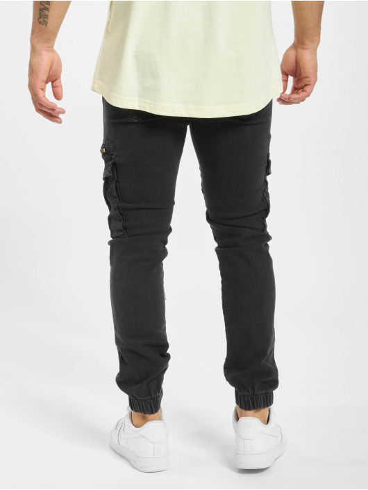 DEF Slim Fit Jeans Norman zwart