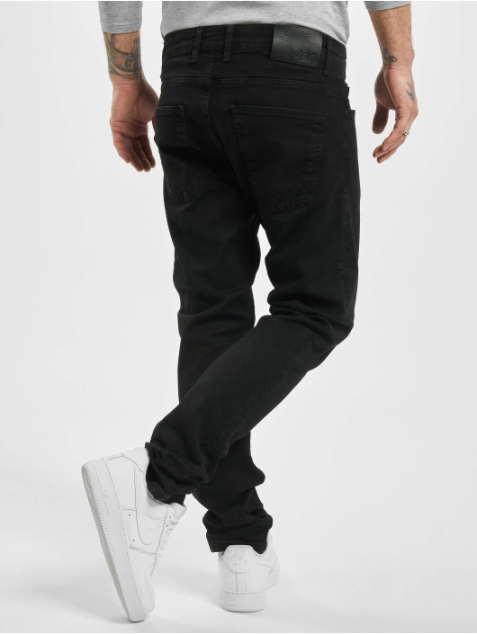DEF Slim Fit Jeans Gits zwart