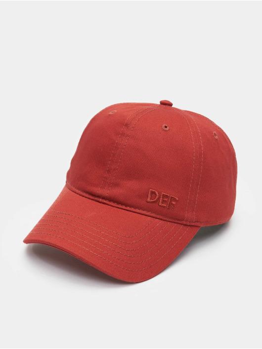 DEF Snapback Cap Daddy red