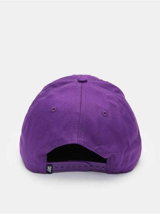 DEF Snapback Caps Daddy fioletowy