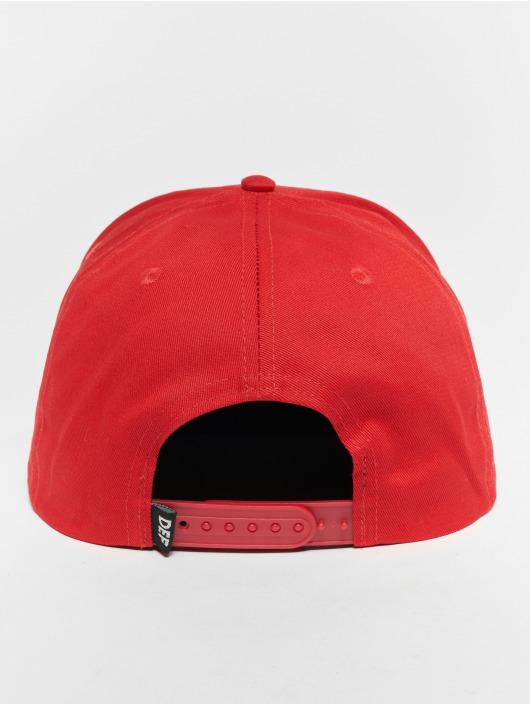 DEF Snapback Caps Logo rød
