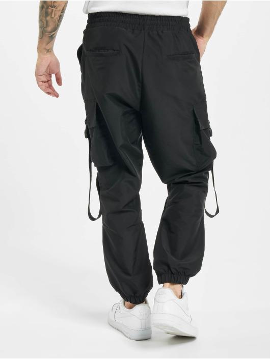 DEF Spodnie Chino/Cargo Akif czarny