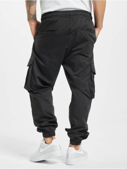 DEF Spodnie Chino/Cargo Flo czarny