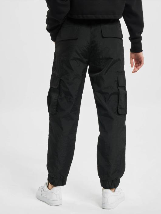 DEF Spodnie Chino/Cargo Track czarny