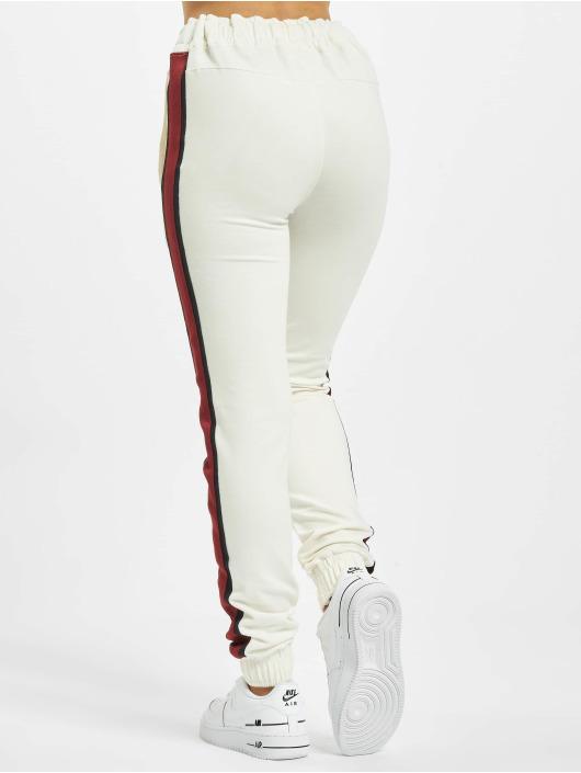 DEF Spodnie do joggingu Macy bialy