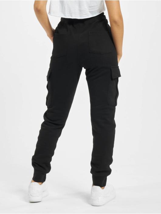 DEF Spodnie do joggingu Greta czarny