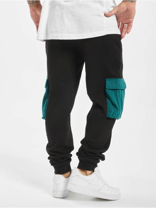 DEF Spodnie do joggingu Nole czarny