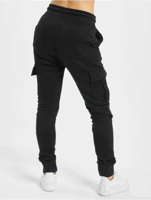 DEF Spodnie do joggingu Sustainable Organic Cotton czarny