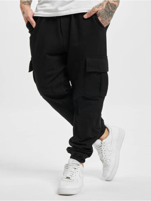 DEF Spodnie do joggingu Ozan czarny