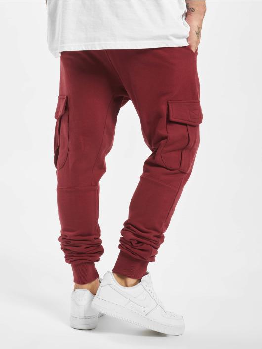 DEF Spodnie do joggingu Gringo czerwony