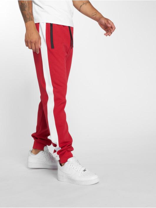 DEF Spodnie do joggingu Bearer czerwony
