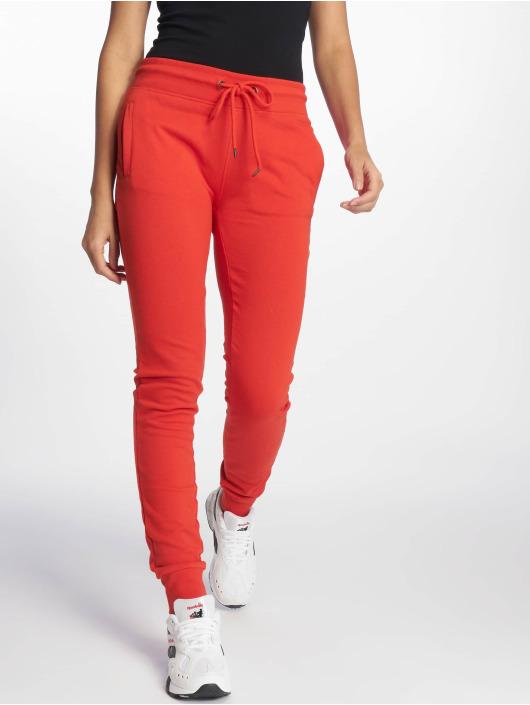 DEF Spodnie do joggingu Chadera czerwony