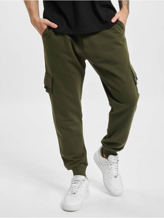 DEF Spodnie do joggingu Fatih khaki