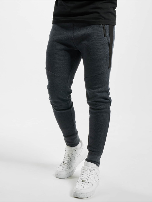 DEF Spodnie do joggingu Joris niebieski