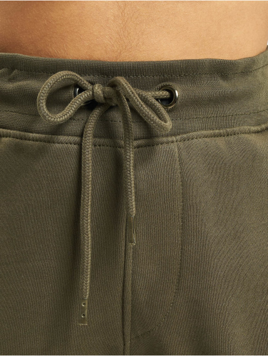 DEF Spodnie do joggingu Greta oliwkowy