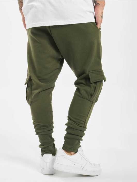 DEF Spodnie do joggingu Chico oliwkowy