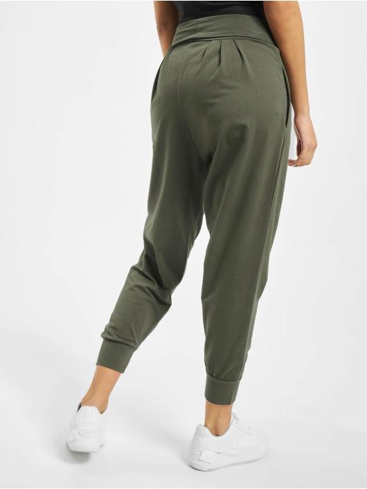 DEF Spodnie do joggingu Saruel oliwkowy