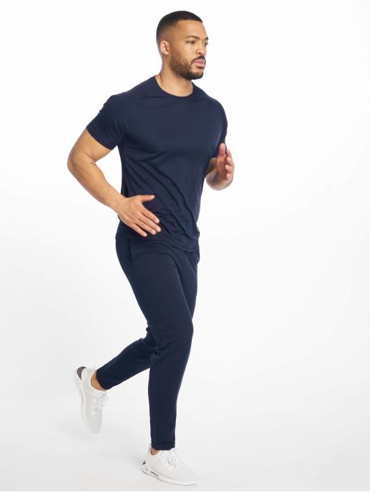 DEF Sports joggingbroek Rof blauw