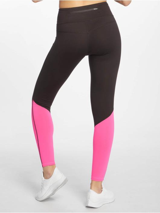 DEF Sports Legging Bele schwarz