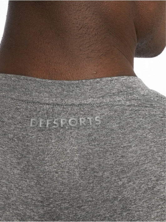 DEF Sports Sportshirts Fries grau