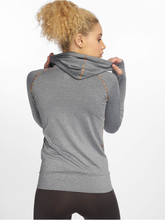 DEF Sports Zip Hoodie Allutic grey