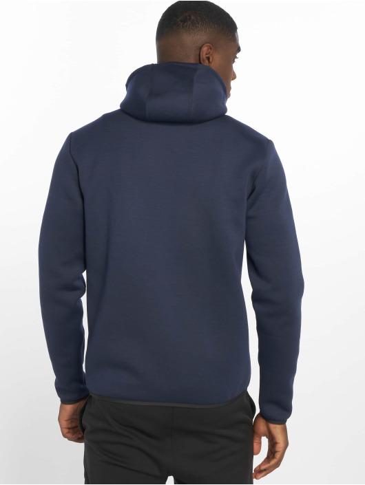 DEF Sports Zip Hoodie Bizier modrá