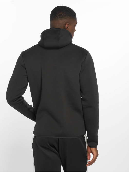 DEF Sports Zip Hoodie Bizier svart