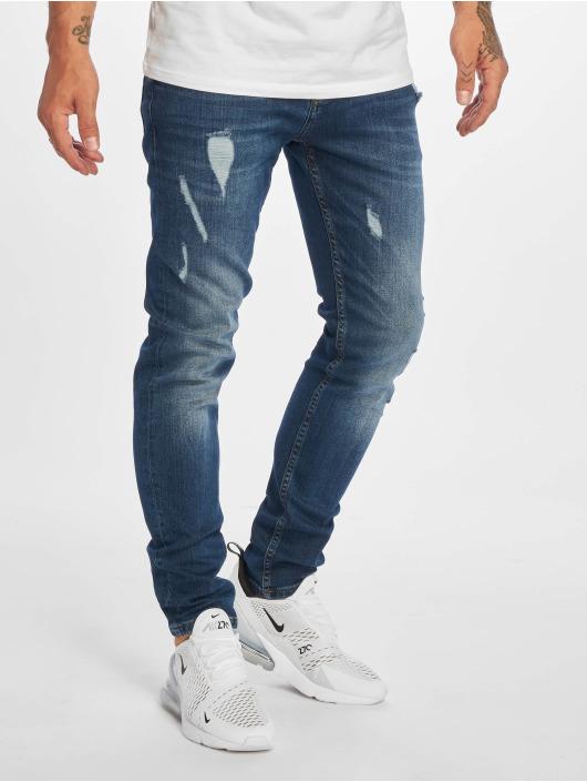 DEF Straight Fit Jeans Duon blå