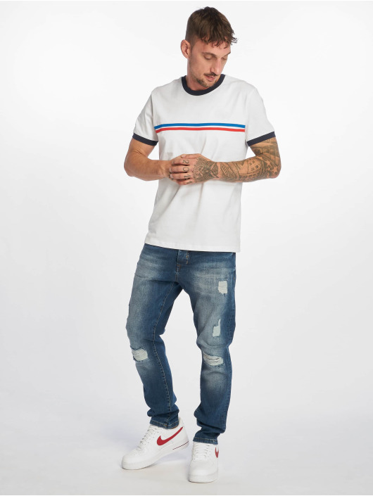 DEF Straight Fit Jeans Jay blå