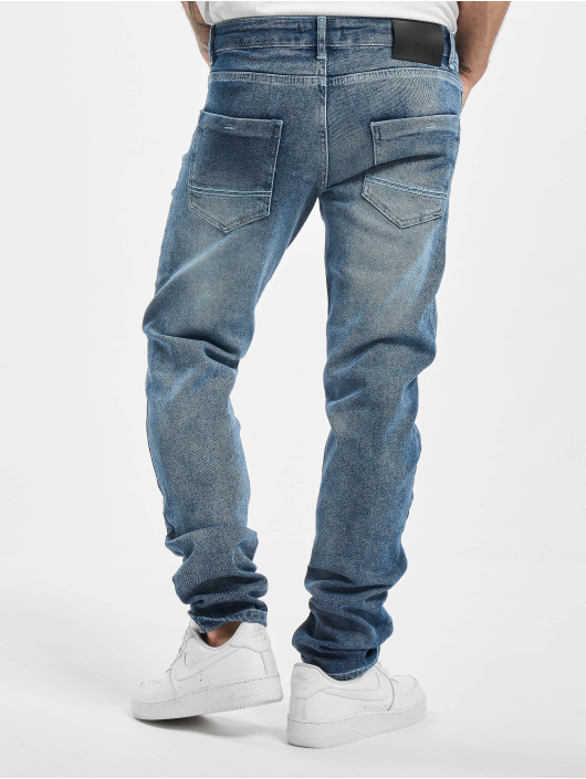 DEF Straight Fit Jeans Alfie blau
