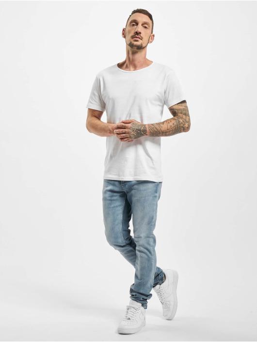 DEF Straight Fit Jeans Kai blau