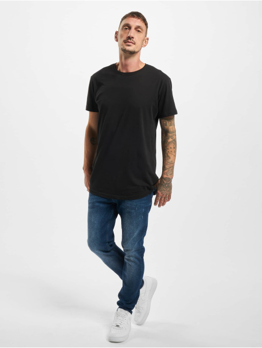 DEF Straight Fit Jeans Tom blau